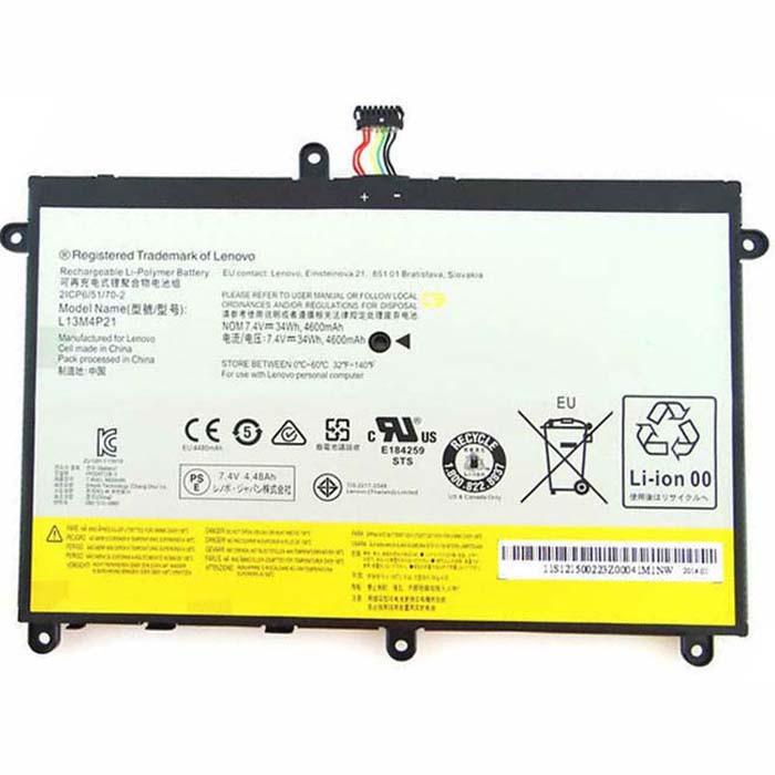 L13M4P21 L13L4P21 Battery 4600MAH 7.4V Pack for Lenovo Yoga 2 11