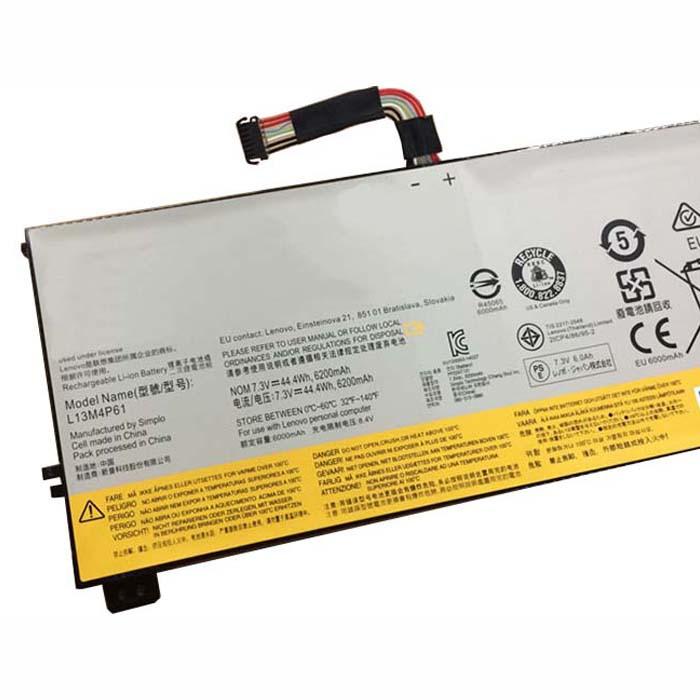L13M4P61 Battery 44.4WH 7.3V Pack for LENOVO EDGE 15 80H1 15.6
