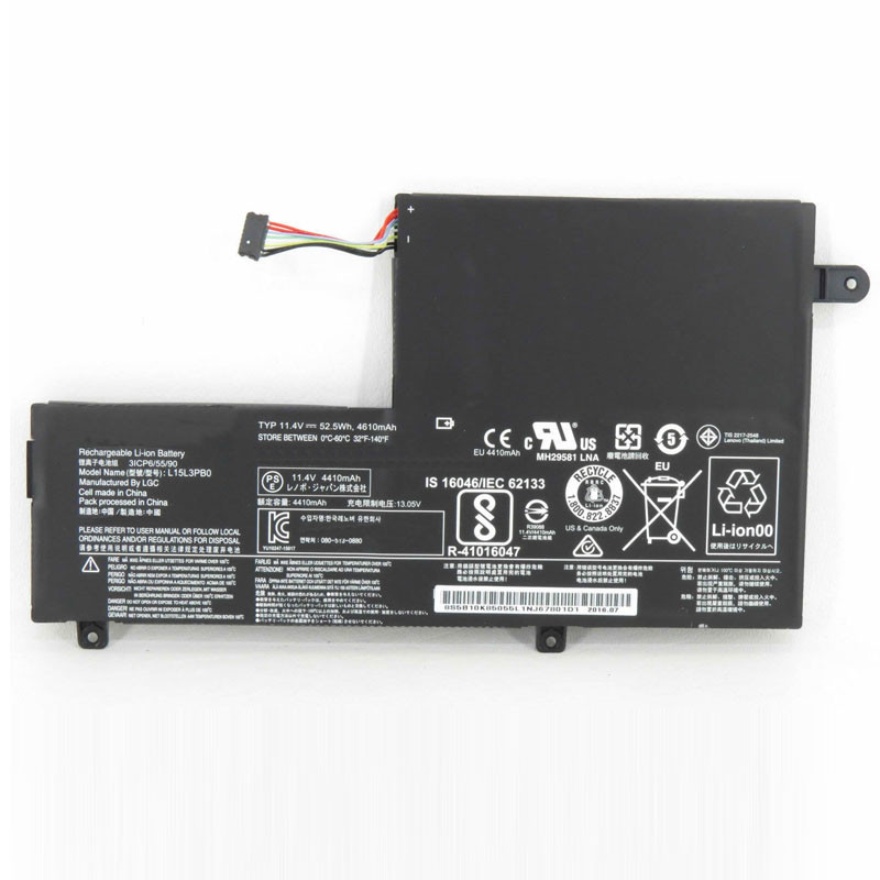 L15L3PB0 Battery 4610mAh 11.4V Pack for Lenovo Flex 4-1470