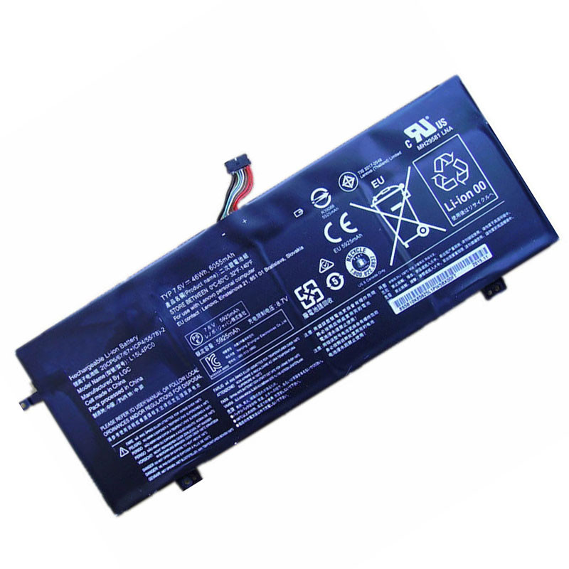 L15L4PC0 Battery 6055mah/46Wh 7.6V Pack for Lenovo IdeaPad 710S 710S-13ISK