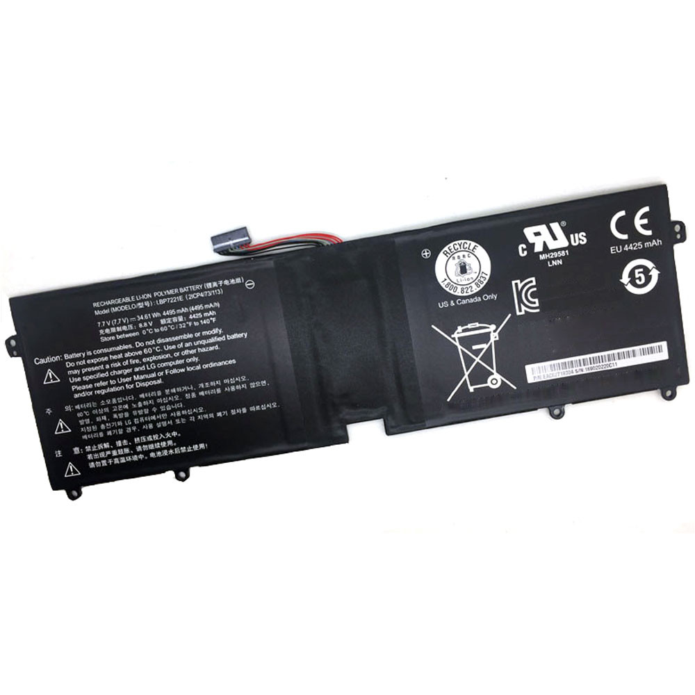 LBP7221E Battery 34.61Wh/4495mAh 7.7V Pack for LG Gram 15 LBP7221E 2ICP4/73/113 Series