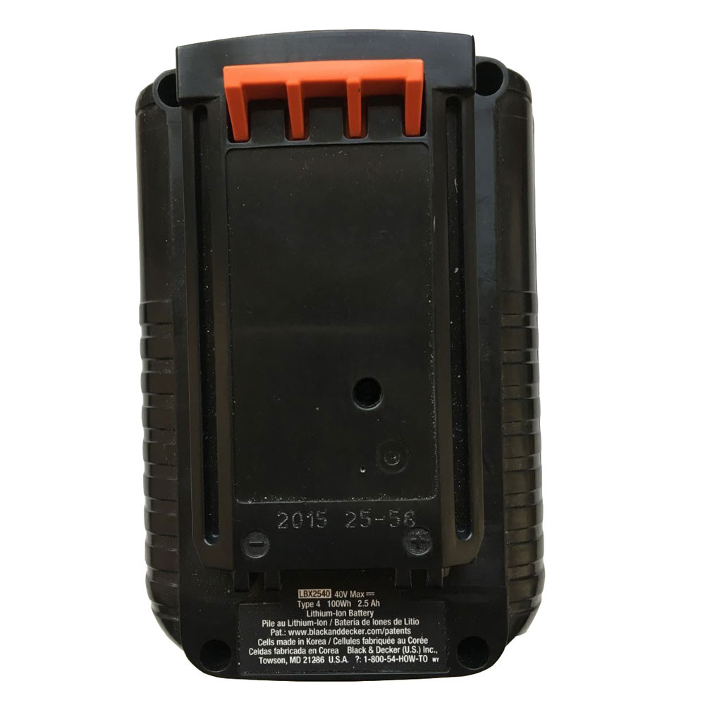 LBX2040  Battery 2500mah 40V Pack for Black&Decker LBXR36