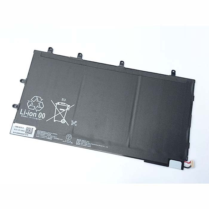LIS3096ERPC Battery 6000MAH/22.2Wh 3.7V Pack for Sony Xperia Tablet Z Tablet 1ICP3/65/100-3