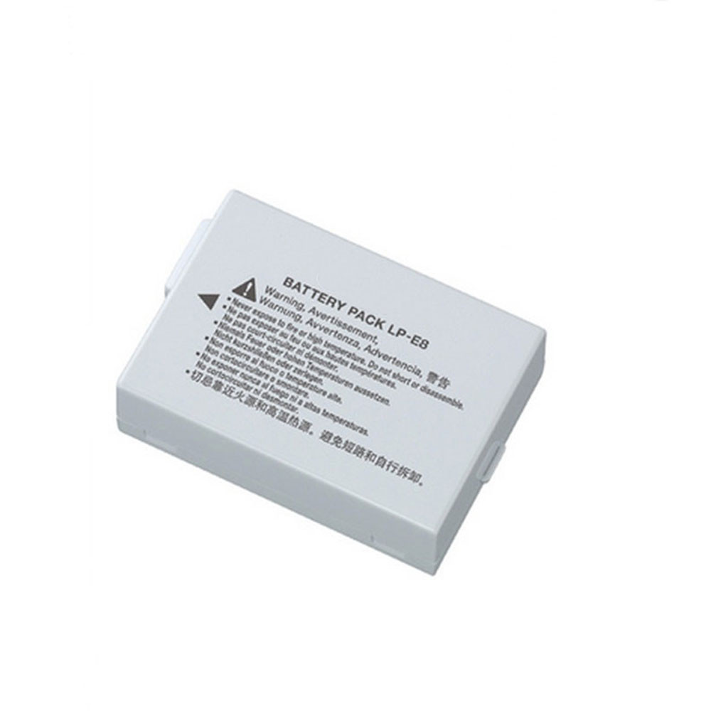 LP-E8 Battery 1120mAh /8.1WH 7.2V Pack for Canon EOS 550D 600D 700D Kiss X4  Rebel T3i T2i