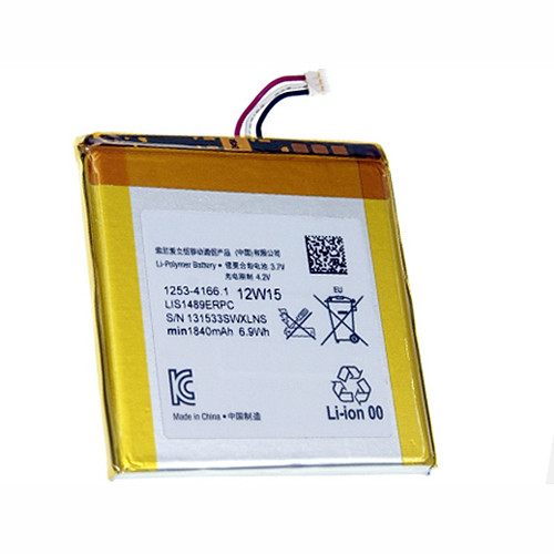 LIS1489ERPC Battery 1840mAh 3.7V Pack for Sony Xperia acro S LT26W
