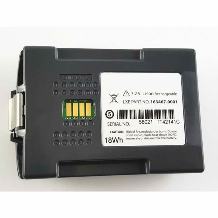 163467-0001 159904-0001 Battery 18Wh 7.2V Pack for LXE MX7 Barcode Scanner