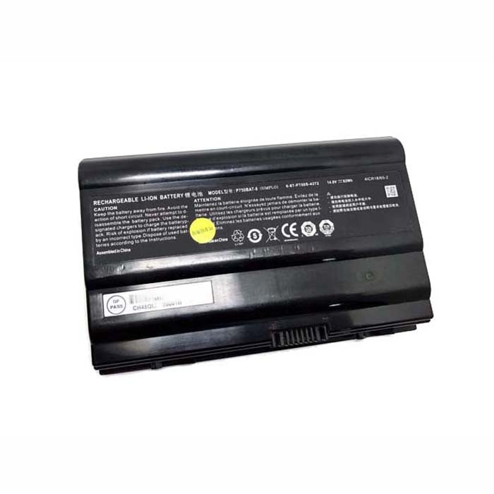 P750BAT-8 Battery 82Wh 14.8V Pack for Clevo P750ZM P771ZM NP9772 NP9773