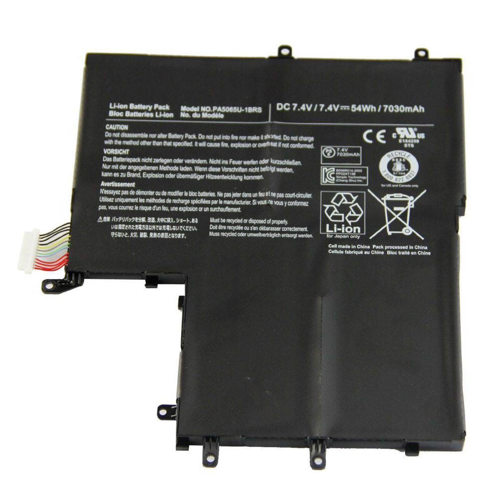 PA5065U-1BRS Battery 54WH/7030mah 7.4V Pack for Toshiba Satellite U845W U840W-S400