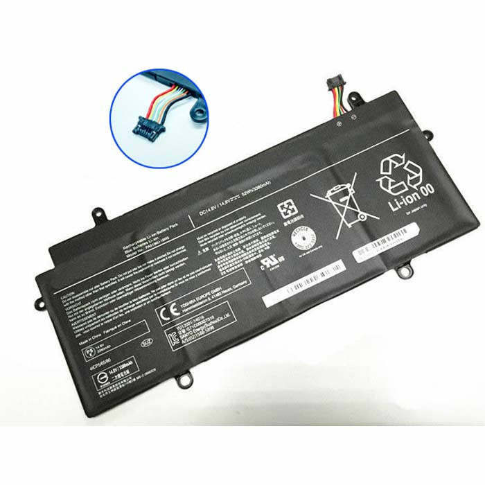 PA5136U-1BRS Battery 3380mah/52wh/4cell 14.8v Pack for Toshiba Portege Z30-A Z30-A1301