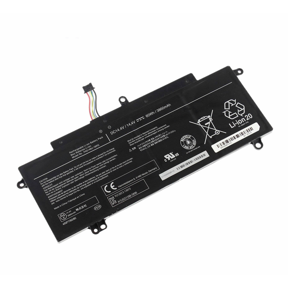 PA5149U-1BRS Battery 60Wh/3860mAh 14.4V Pack for Toshiba Tecra Z40T-A1410 Z50-A-11H