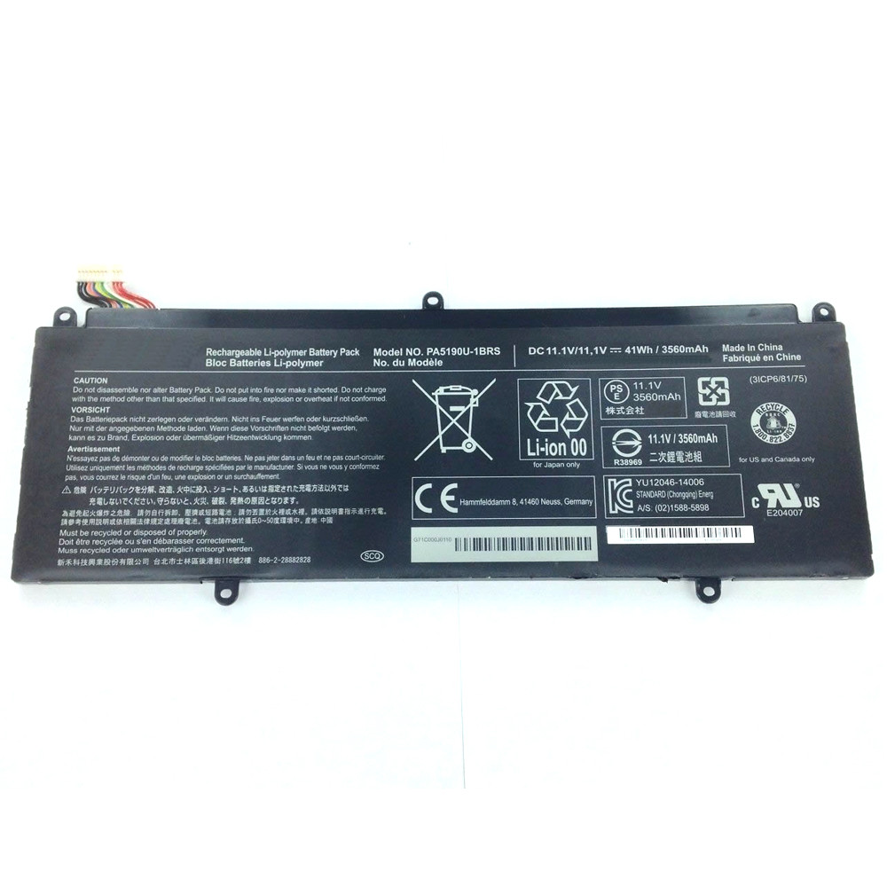 PA5190U-1BRS Battery 3560mAh /41Wh 11.1V Pack for Toshiba Satellite P35W-B Series