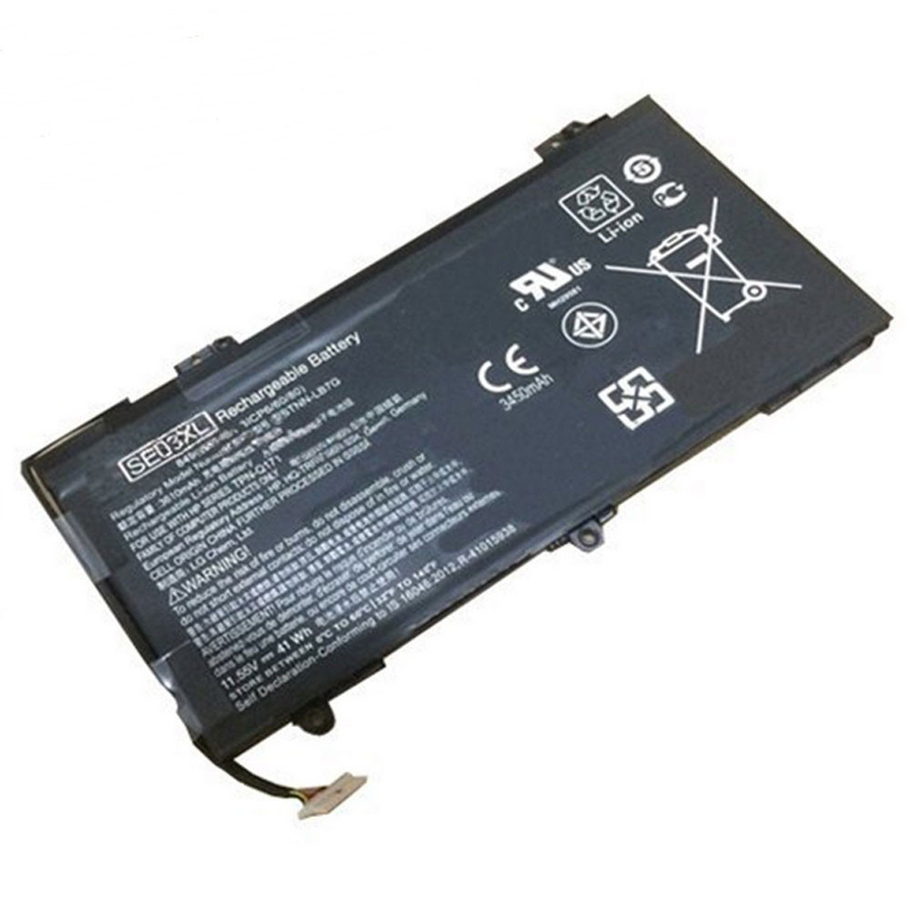 SE03XL Battery 41.5Wh 3450mAh 11.55V Pack for HP HSTNN-LB7G HSTNN-UB6Z TPN-Q171 849568-421 849908-850