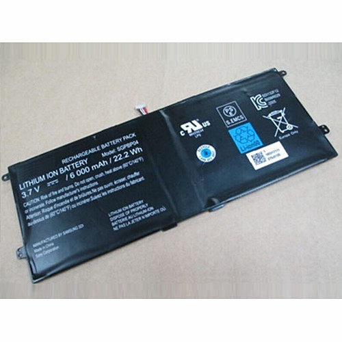 SGPBP04 Battery 6000mAh/22.2Wh 3.7V Pack for SONY Xperia Tablet S Series PCG-C1R PCG-C1S PCG-C1X