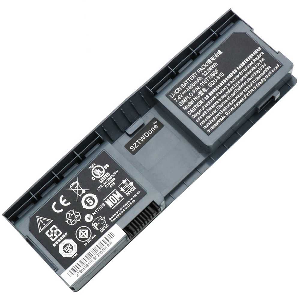 SQU-810 Battery 4800mah 7.4V Pack for FUJITSU NOBi Intel 8.9inch Classmate Convertible netbook