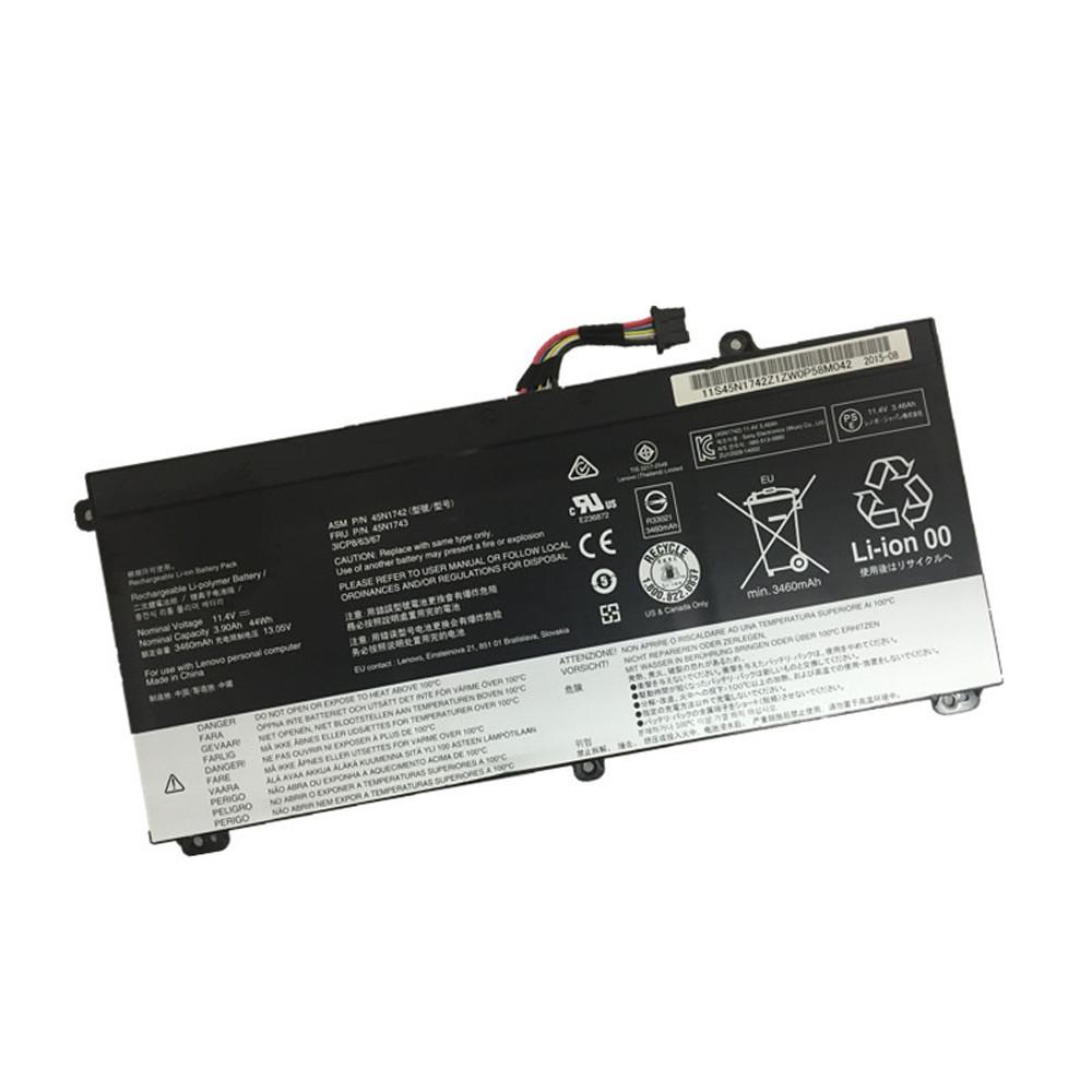 45N1741 Battery 44WH / 3900mAh 11.4V Pack for Lenovo ThinkPad T550 T550s W550 W550s