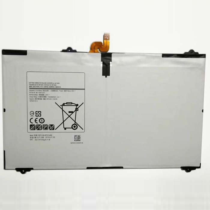 EB-BT810ABE EB-BT810ABA Battery 5870mAh/22.6Wh 3.85-4.4V Pack for Samsung Galaxy TAB S2 9.7