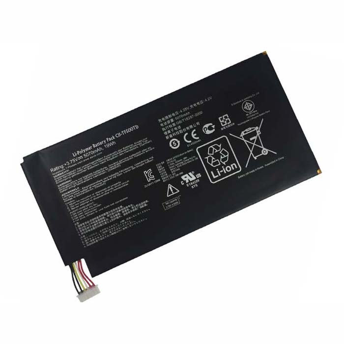 C11-TF500TD Battery 5070mAh/19Wh 3.75V Pack for Asus EE Pad TF500 Transformer Pad TF500 TF500T