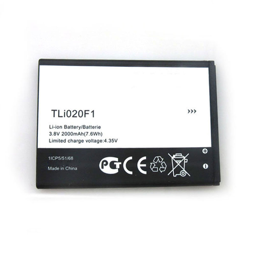 TLi020F2 Battery 2000MAH/7.6Wh 3.8V/4.35V Pack for TCL Alcatel Onetouc