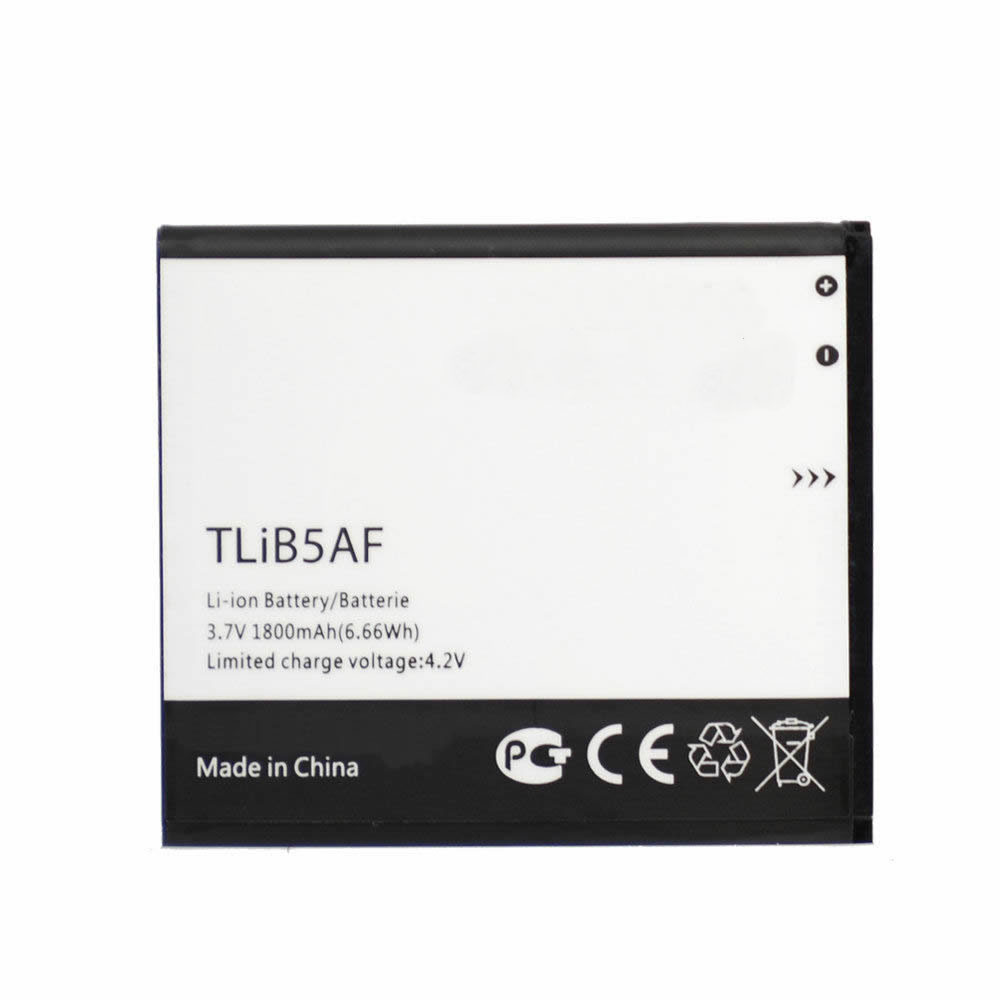 TLiB5AF Battery 1800MAH/6.66Wh 3.7V/4.2V Pack for Alcatel OT-997D Smart OT-5035 LINKZONE MW41 T-Mobile