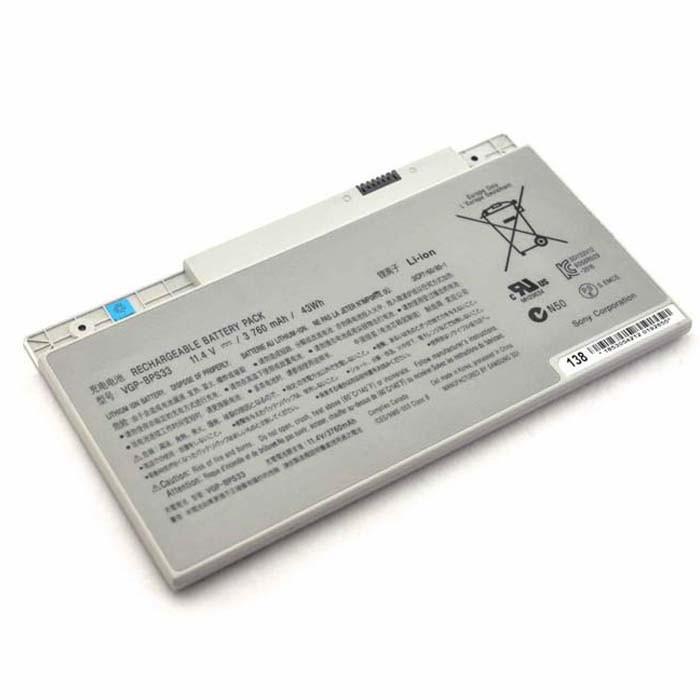 VGP-BPS33 Battery 3760mAh/43WH 11.4V Pack for SONY VAIO SVT-14 SVT-15 T14 T15 Touchscreen Ultrabooks