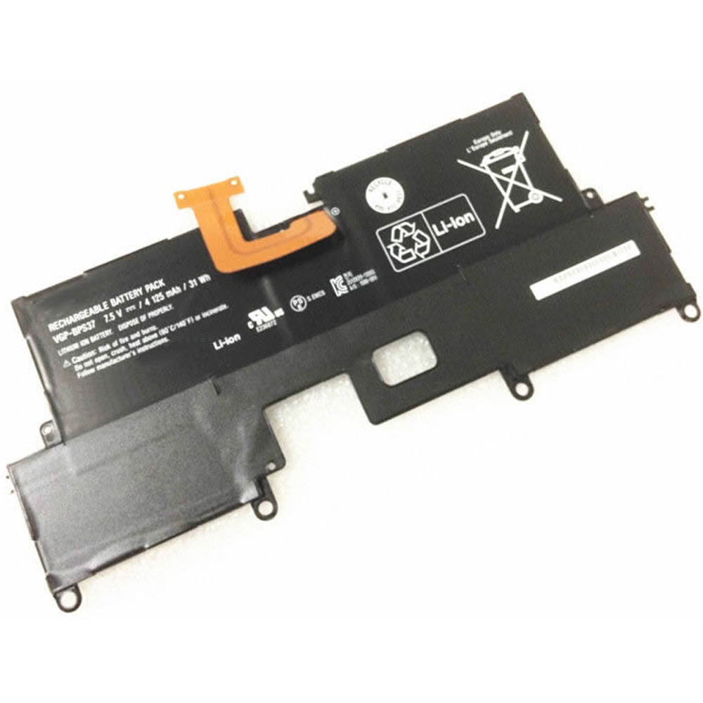 4125mAh VGP-BPS37 Battery 4125MAH/31WH 7.5V  Pack for Sony Vaio Pro11 Ultrabook 11.6 (Svp11216cw/s)
