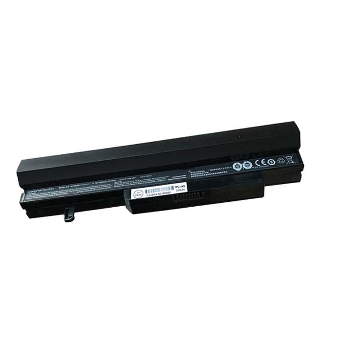 W110BAT-6 Battery 5600mAh/62.16Wh 11.1V Pack for Clevo SAGER NP6110 W110ER