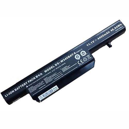 W340 Battery 4400mAH/48.84WH 11.1V Pack for G150S W340BAT-6 6-87-W345S-4W42