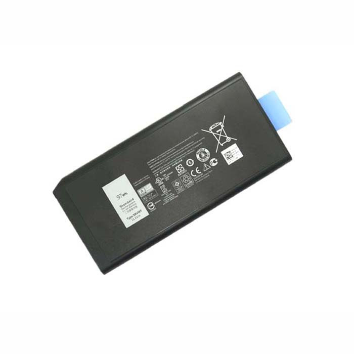 W11CK 453-BBBE X8VWF Battery 97WH 11.1V Pack for Dell Latitude 14 5404 7204 7404