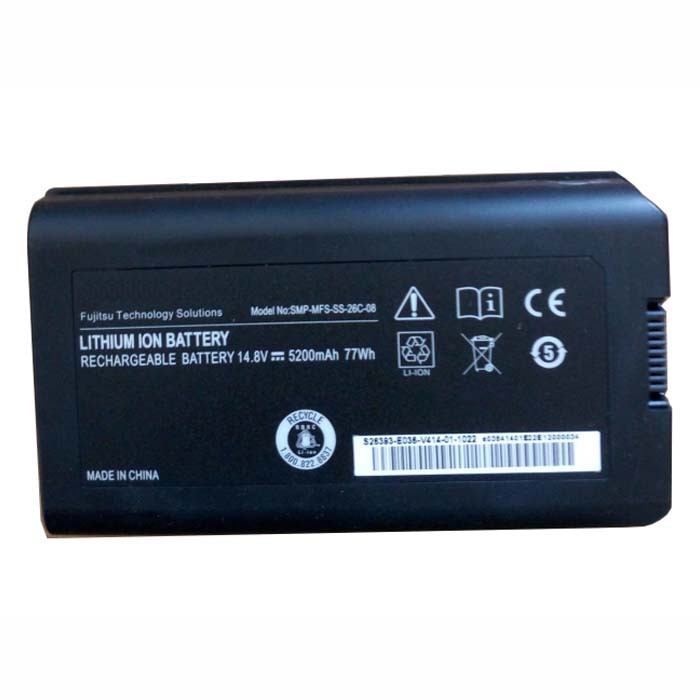 SMP-MFS-SS-26C-08 Battery 5200MAH/77wh 14.8V(not compatible with 11.1V) Pack for FUJITSU X9510 X9515 X9525