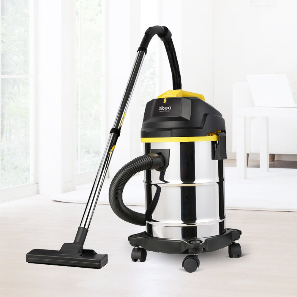 Dibea DU100 Household Barrel Type Wet / Dry Vacuum Cleaner