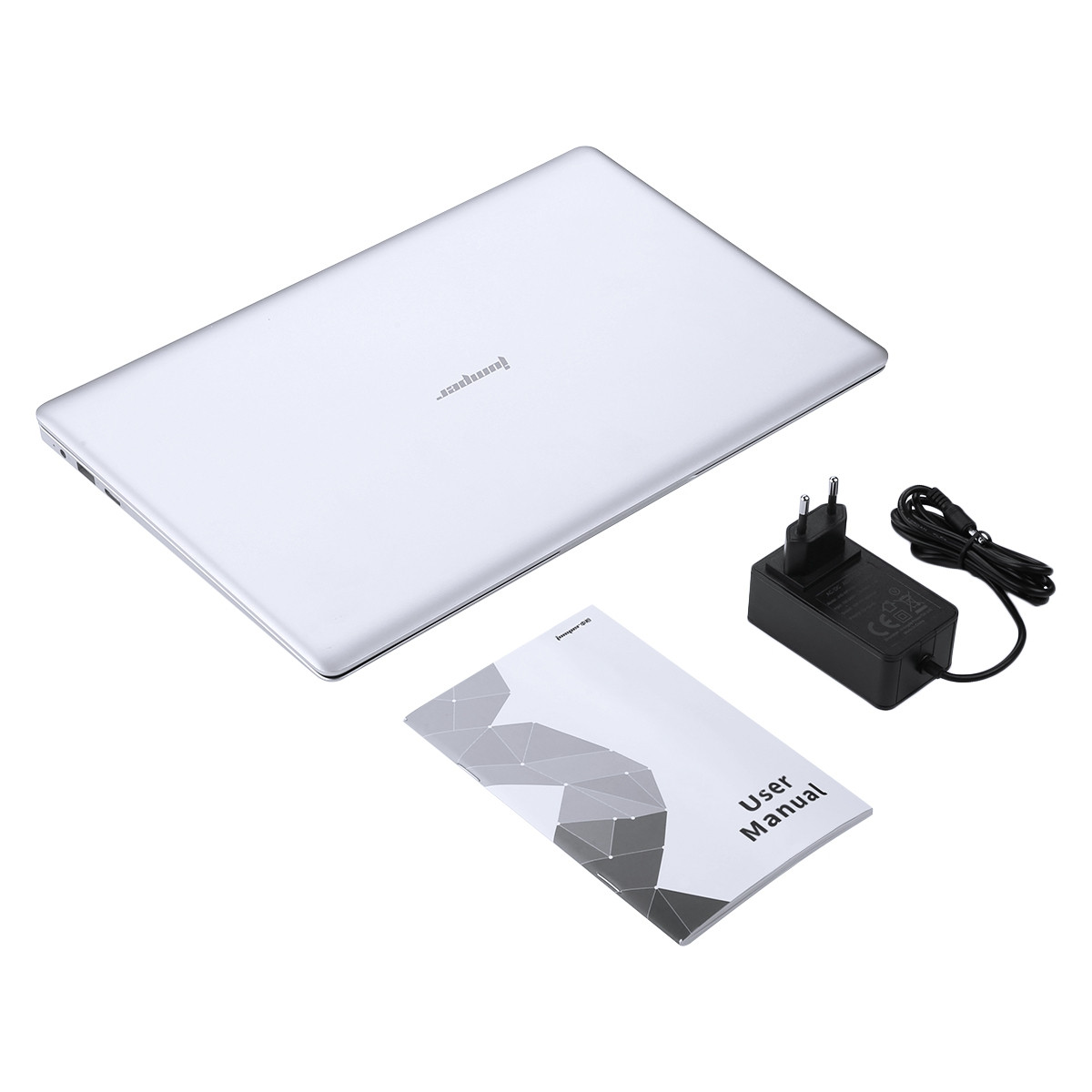 Jumper EZbook S4 Notebook 14.0 inch Windows 10 Home Version Gemini Lake N4100 Quad Core 1.1GHz 8GB RAM 256GB SSD 0.3MP Front Camera Dual Band 4600mAh Built-in
