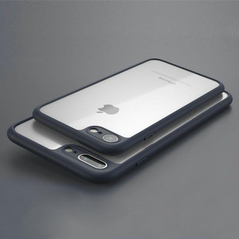 Luxury Ultra Slim PC + TPU Bumper Case Cover for Apple iPhone 7 6S 6 Plus