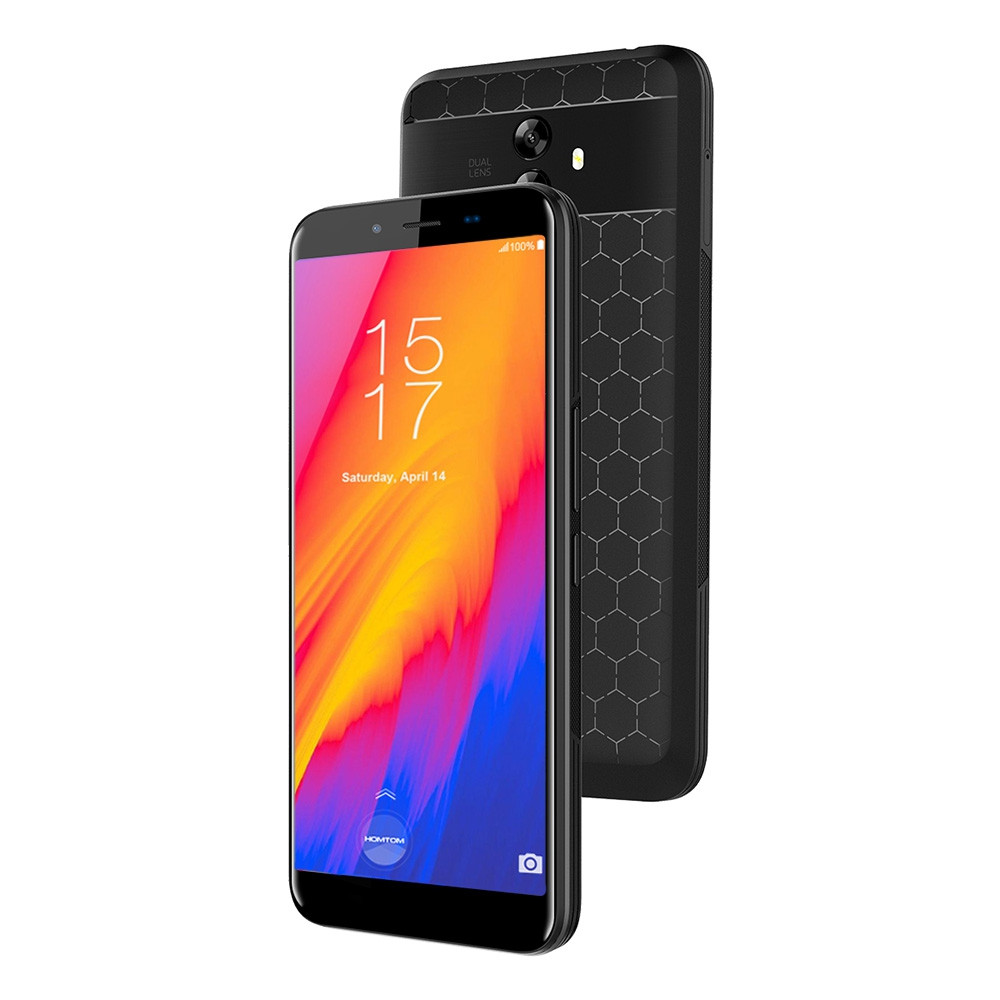 HOMTOM S99 4G Phablet 5.5 inch with Android 8.0 MTK6750