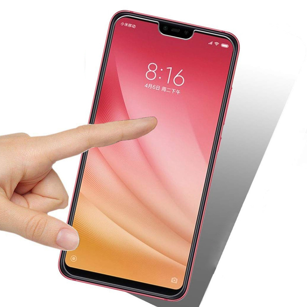 2pcs Tempered Glass Screen Protector for Xiaomi Mi 8 Lite