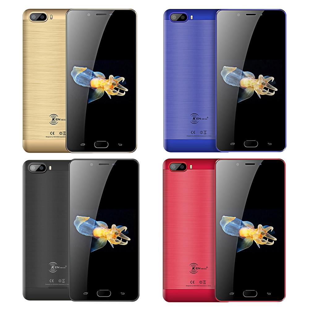 KENXINDA S9 4G Phablet 5.5 inch Android 7.0 MTK6737 Quad Core 2GB RAM 16GB ROM