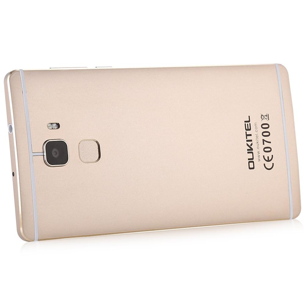 OUKITEL U13 5.5 inch 4G Phablet Android 6.0 MTK6753 Octa Core 1.3GHz 3GB RAM 64GB ROM 8.0MP + 13.0MP Cameras Fingerprint Sensor FOTA
