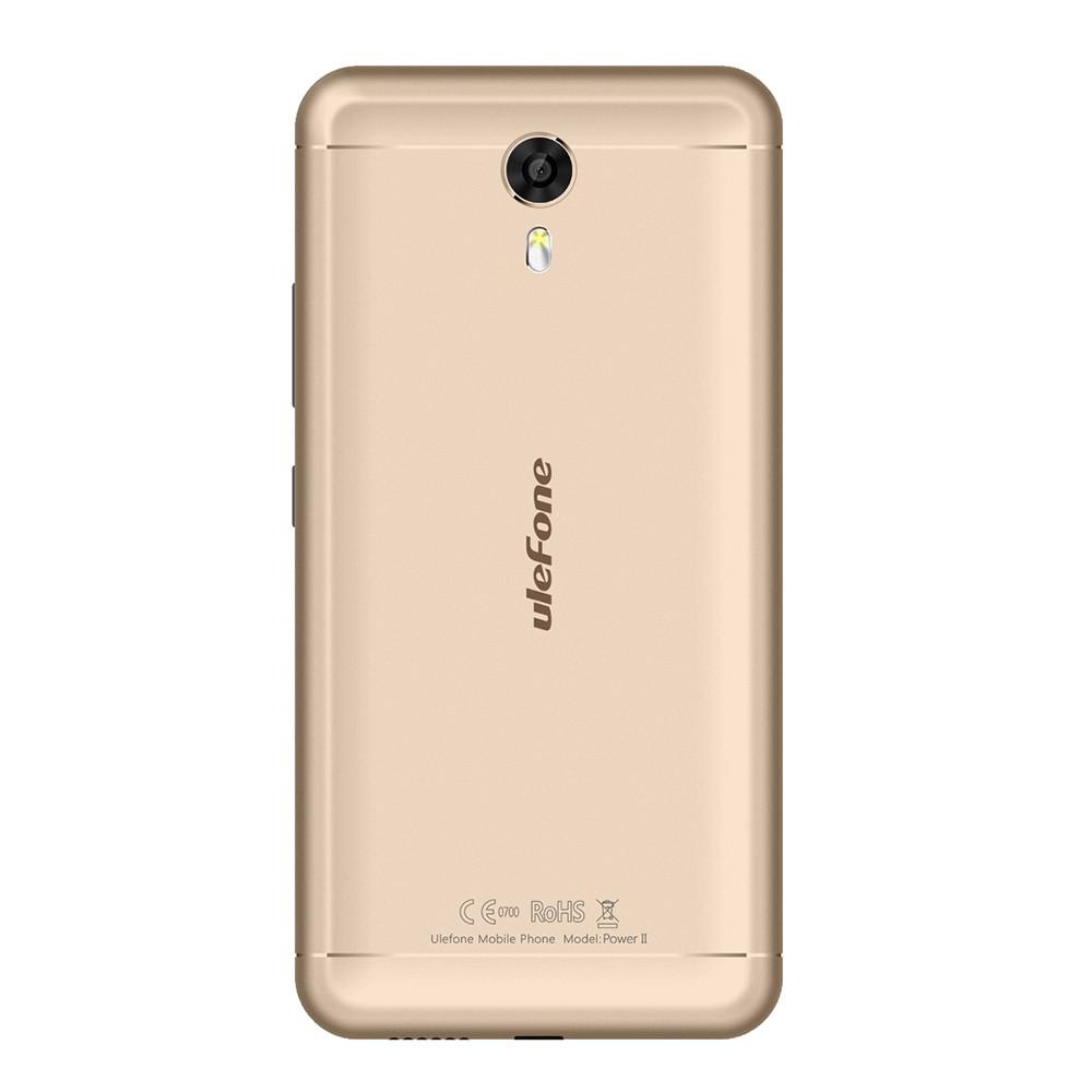 Ulefone Power 2 4G Phablet 5.5 inch Android 7.0 MTK6750T Octa Core 1.5GHz 4GB RAM 64GB ROM 13MP Main Camera Fingerprint Scanner Corning Gorilla 3 6050mAh Battery