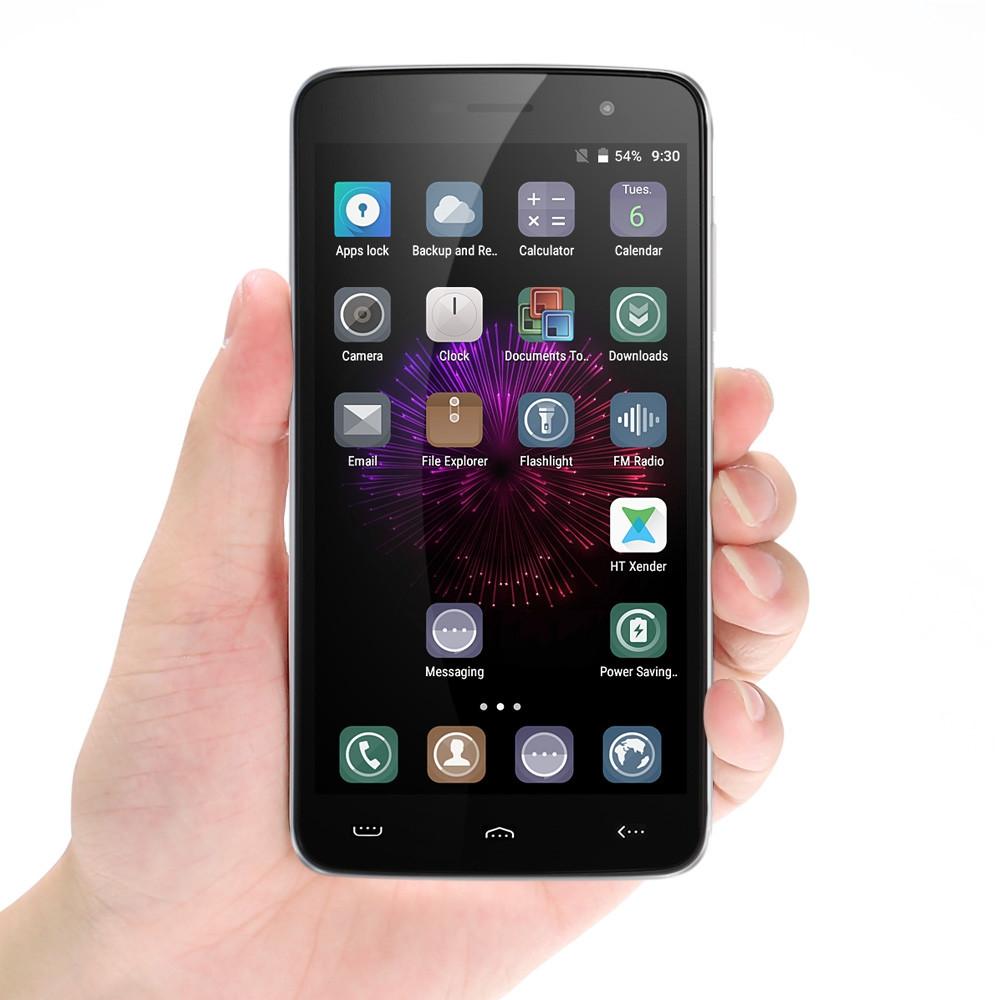 Homtom HT17 Pro 5.5 inch Android 6.0 4G Phablet MTK6737 Quad Core 1.3GHz 2GB RAM 16GB ROM Fingerprint Sensor HotKnot OTG OTA Bluetooth 4.0
