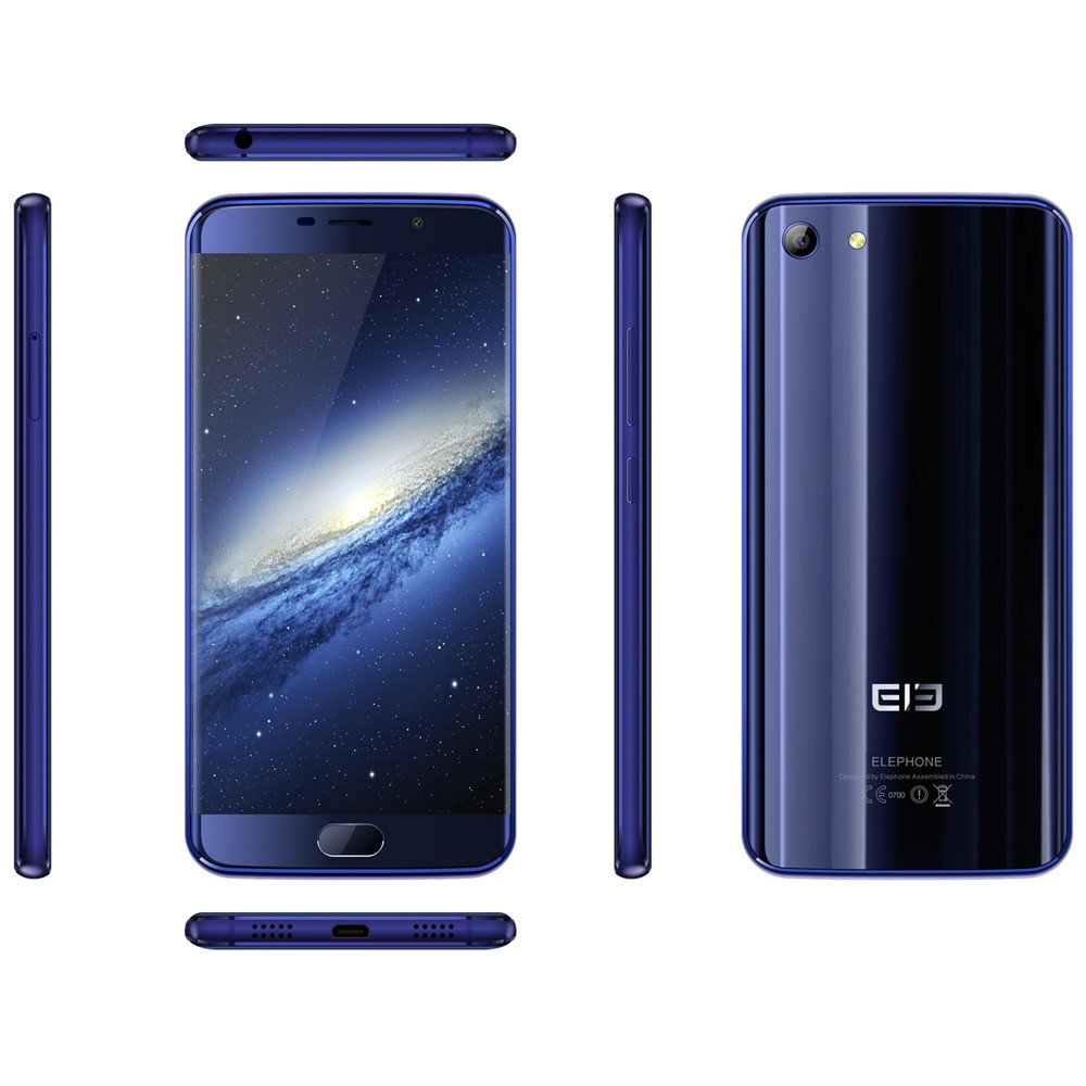 Elephone S7 Mini Android 6.0 5.2 inch 4G Smartphone MTK6737 Quad Core 1.5GHz 2GB RAM 32GB ROM Fingerprint Scanner 5.0MP + 13.0MP Cameras