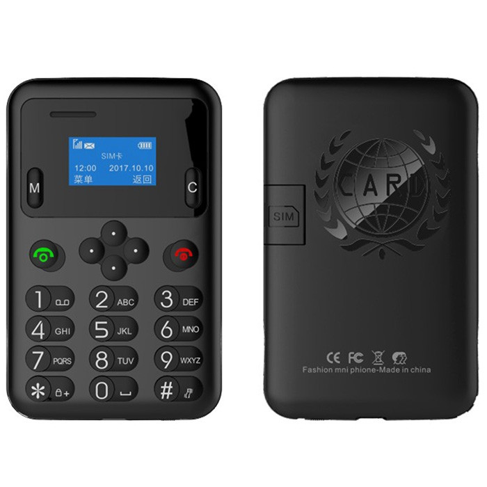 AEKU A6 2G Card Phone 0.96 inch Spreadtrum6600 32MB RAM 64MB ROM GSM 320mAh Built-in