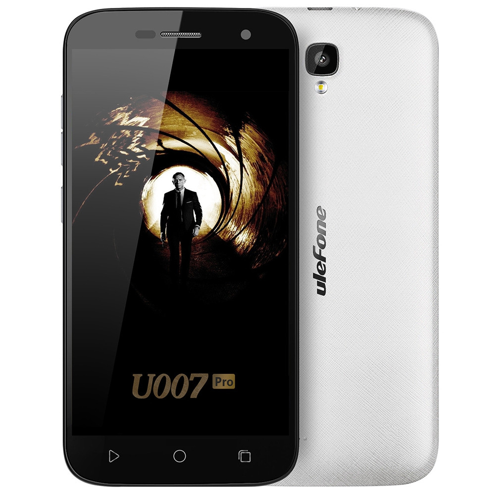 Ulefone U007 Pro Android 6.0 5.0 inch 4G Smartphone MTK6735 Quad Core 1.0GHz 1GB RAM 8GB ROM 13.0MP Rear Camera Corning Gorilla Glass 3 Screen
