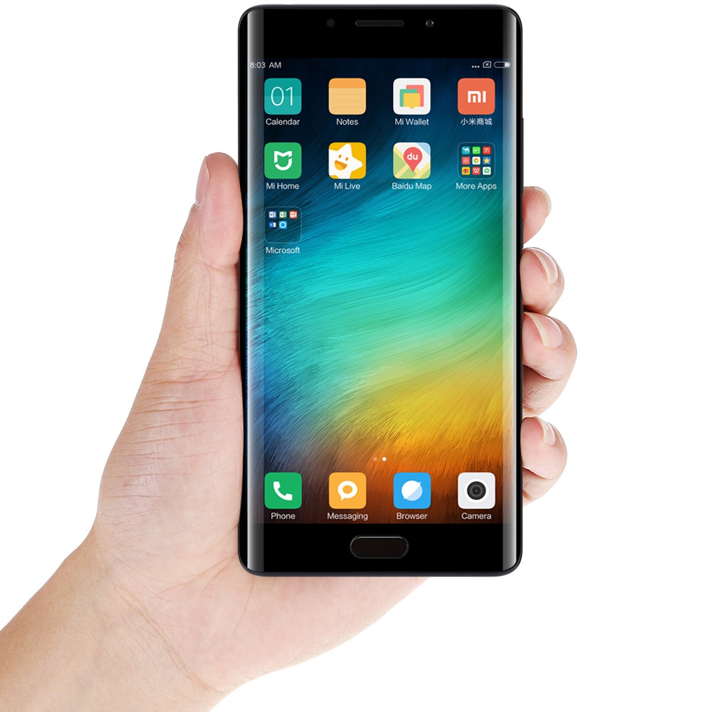 Xiaomi Mi Note 2 5.7 inch Arc Screen 4G Phablet MIUI 8 or Above Snapdragon 821 Quad Core 6GB RAM 128GB ROM 22.56MP Rear Camera Type-C Quick Charge 3.0