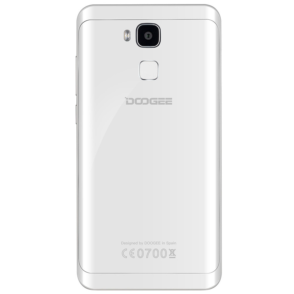 Doogee Y6 Piano White 4G Phablet Android 6.0 5.5 inch 2.5D Screen MTK6750 Octa Core 1.5GHz 4GB RAM 64GB ROM 8.0MP + 13.0MP Cameras HiFi