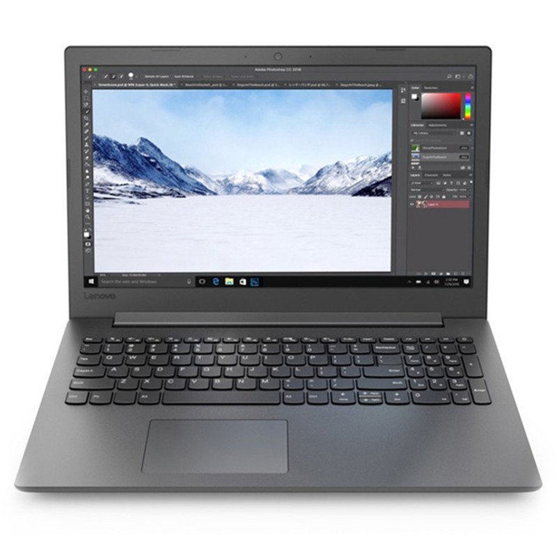 Lenovo ideapad330C - 15IAP Notebook 15.6 inch Windows 10 Home Chinese Version Intel Core I5-8250 Quad Core 1.6GHz 4GB RAM 128GB SSD + 1TB HDD Camera HDMI