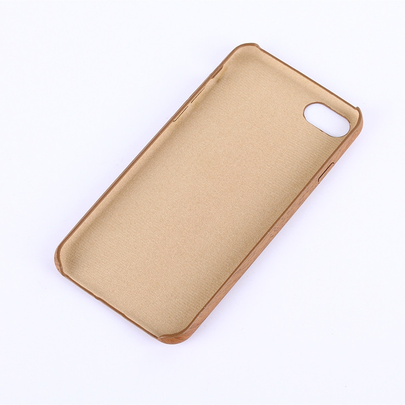 Nacy Wood Grain PU Leather Case for IPhone 7 / 8