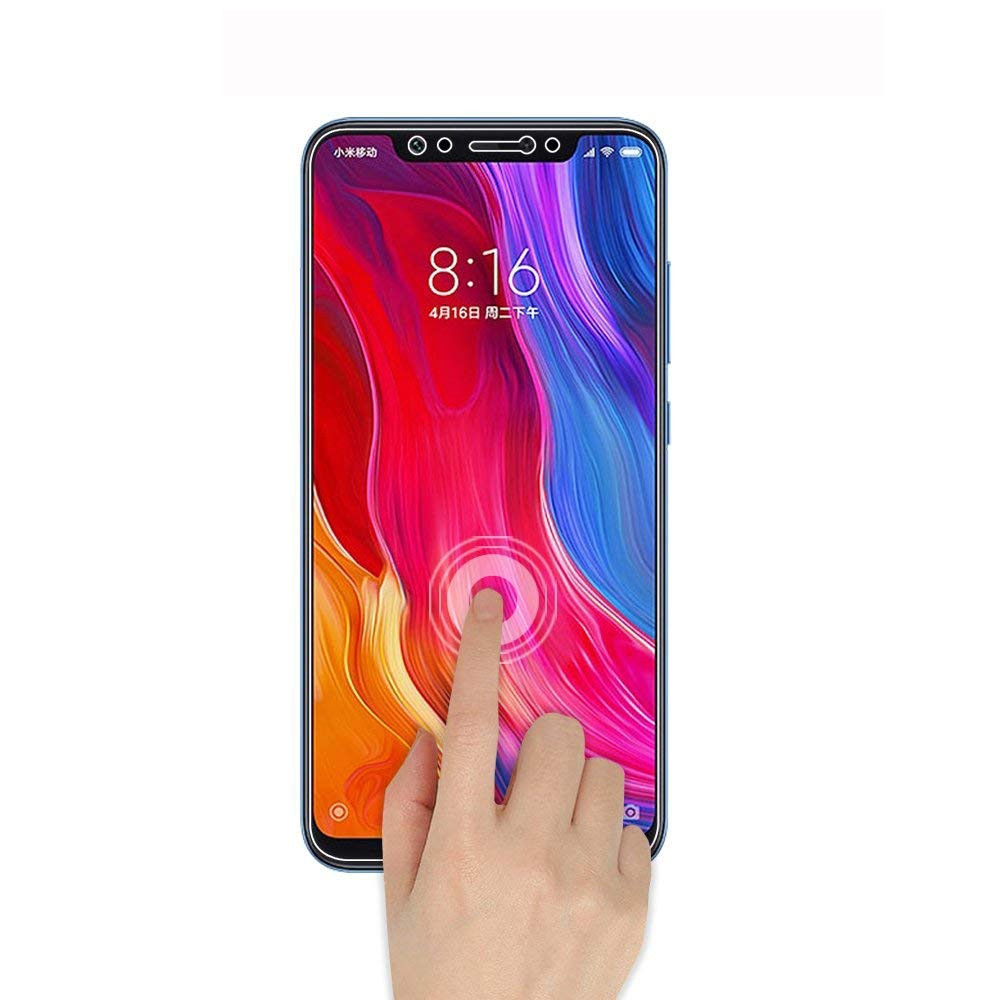 2PCS Premium Tempered Glass Screen Protectors for Xiaomi Mi8