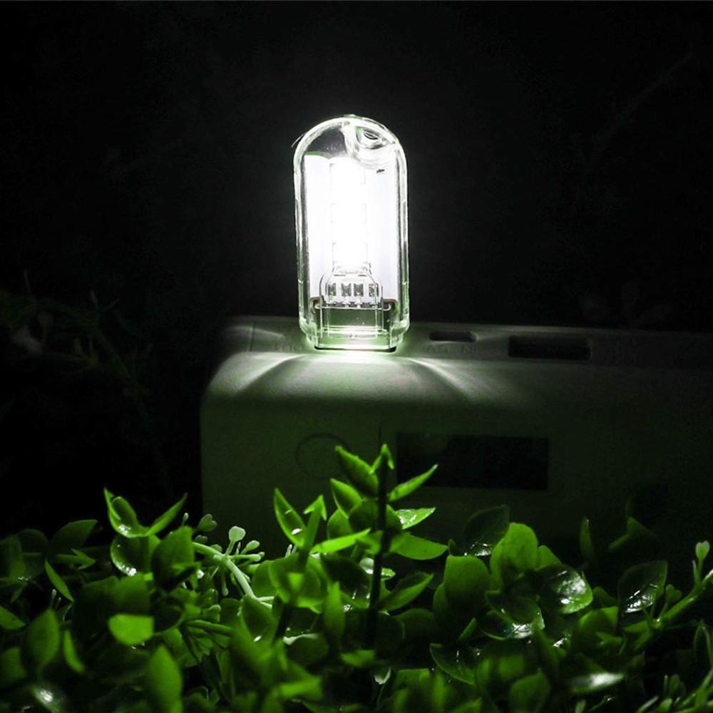 3 LED Mini Portable USB LED Night Light Powered Camping Lamp