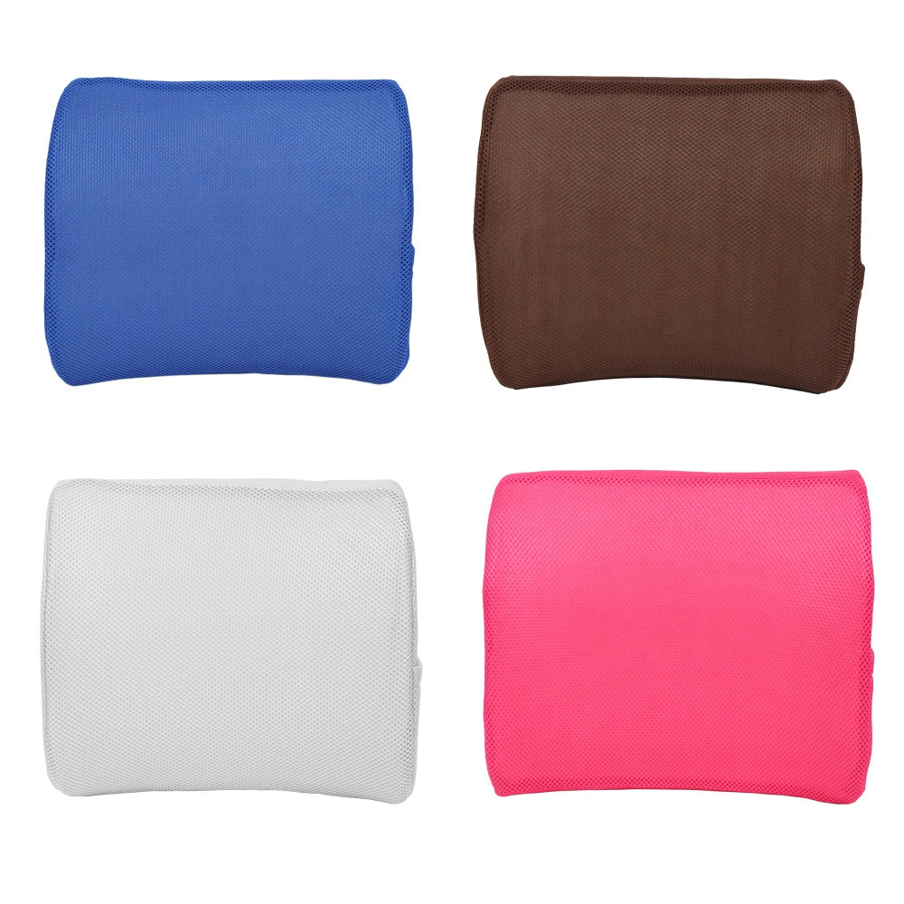Memory Foam Lumbar Support Back Waist Cushion Pillow for Car Office Home