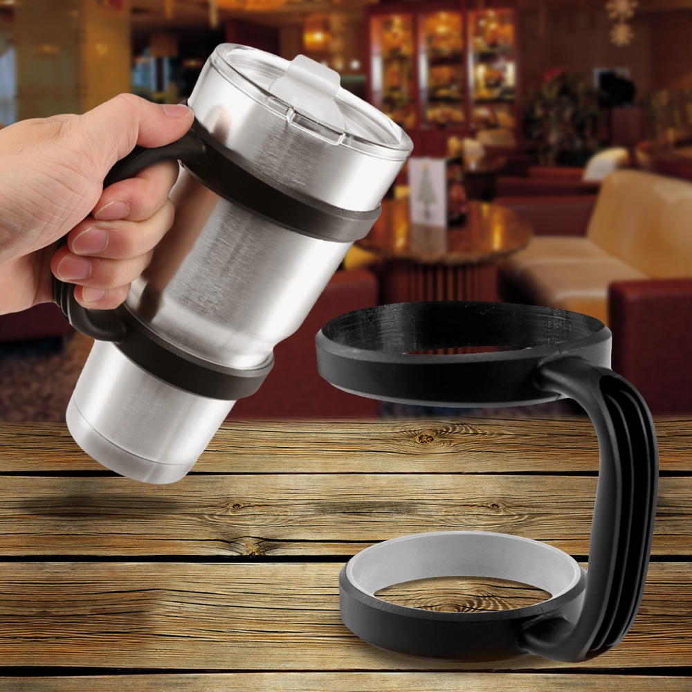 Portable 30oz Water Bottle Mug Cup Handle