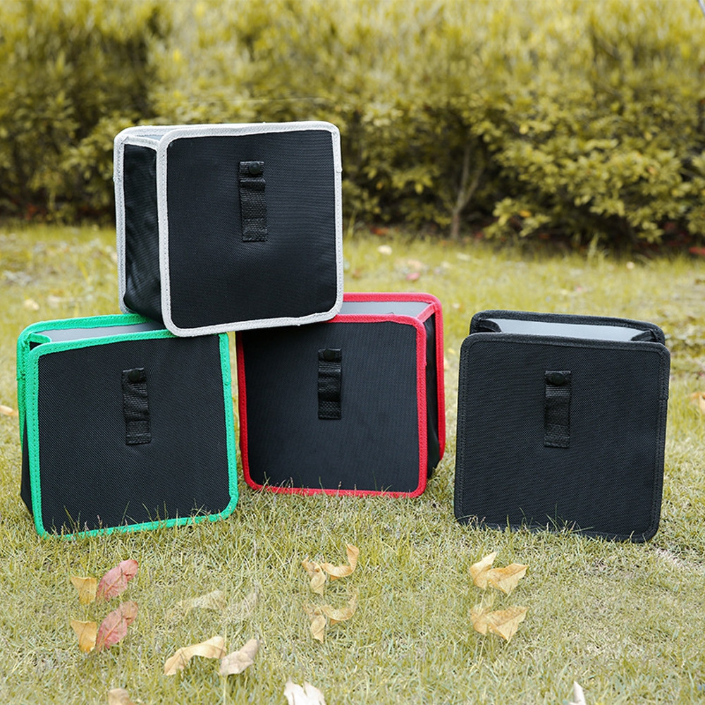 Multifunctional Portable Storage Box Trash Can for Cars Use